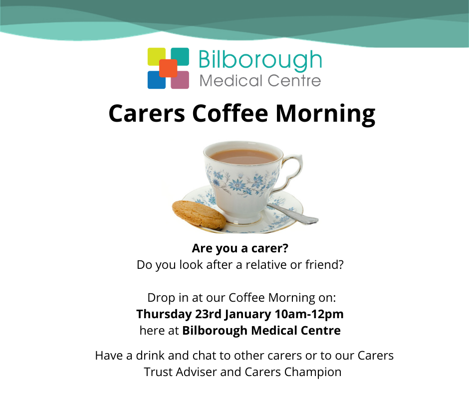 Carers Coffee Morning